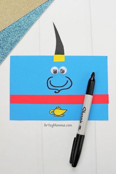 Paper Genie Craft Template