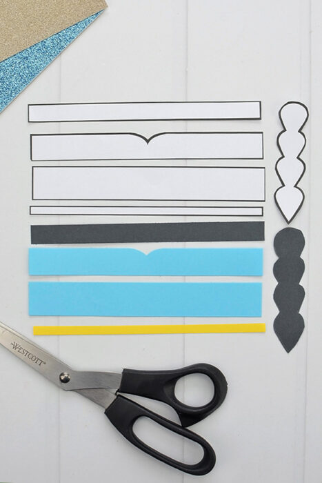 Printable Template for Creating a Princess Jasmine Craft