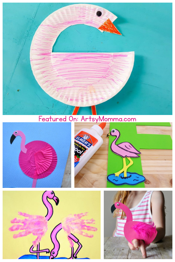 Photos of Flamingo Themed Kids Craft Ideas