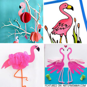 Pink Flamingo Paper Craft Ideas For Kids