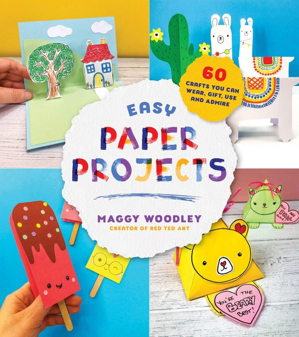 Easy Paper Projects Kids Craft Book