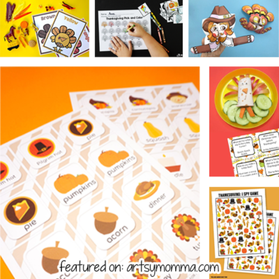 Printable Activities for Thanksgiving Fun