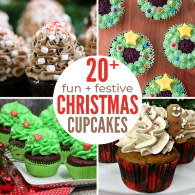 4 images of Christmas Party Cupcake Ideas