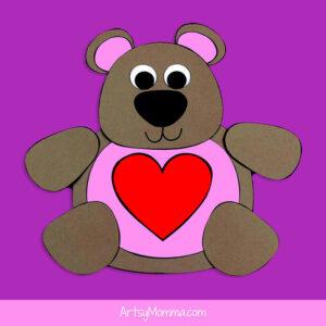 Paper Teddy Bear Craft