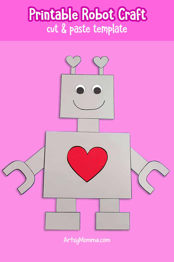 Easy Robot Craft using template