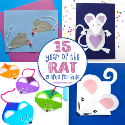 Year of the Rat Crafts for Chinese New Year