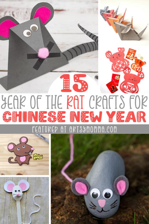 15 Mice Crafts