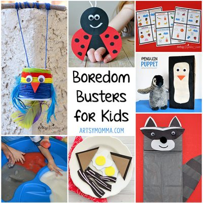 Boredom Busters for Kids While Stuck Inside