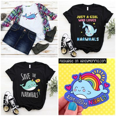 The Cutest Narwhal Finds for Girls