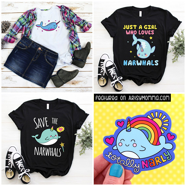 Narwhal T-Shirts, Narwhal Sticker Decal