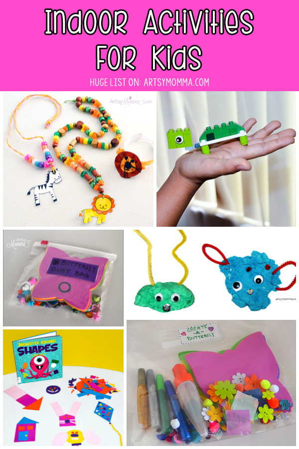 Kids Boredom Busters for 3-8 year olds