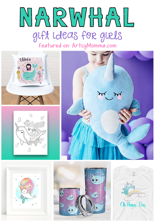 Cute Narwhal Products for Kids