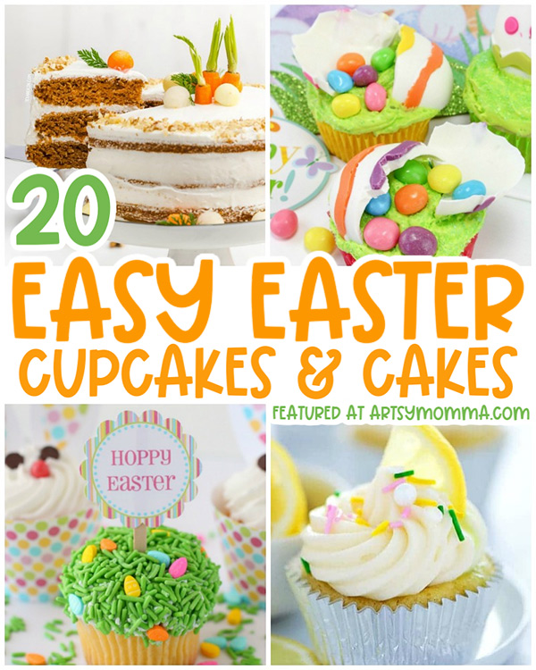 Easter Themed Cupcakes & Cakes