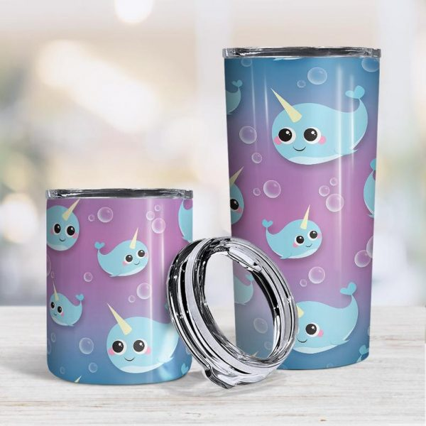 Narwhal Tumbler Cup