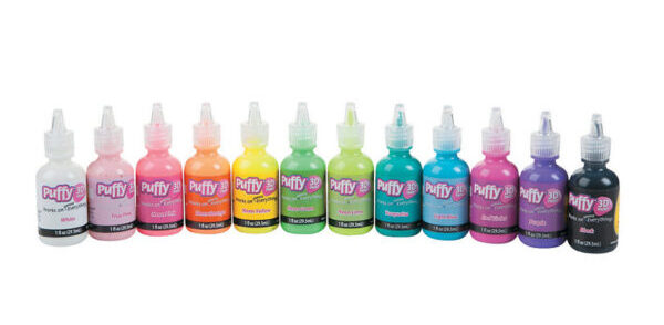Neon Puffy Paints from Tulip