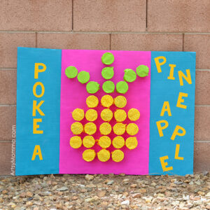 Poke-A-Cup Pineapple Board