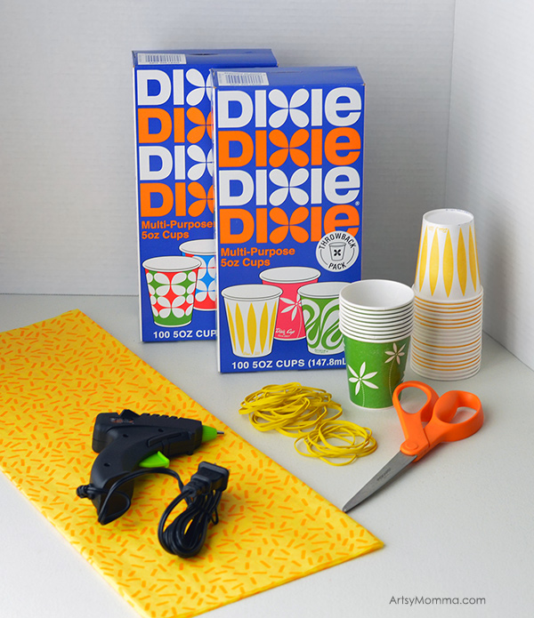 Dixie Cup Pineapple Craft Supplies