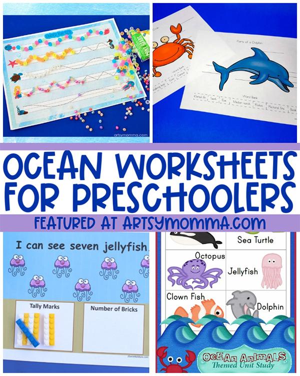 Fun Ocean Worksheets for Preschoolers