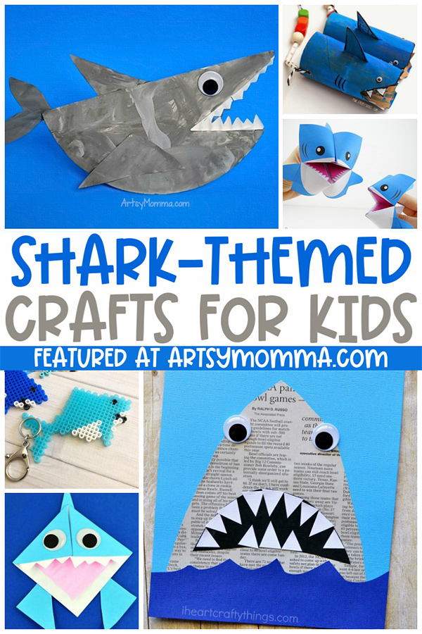 5 Shark Themed Craft Ideas