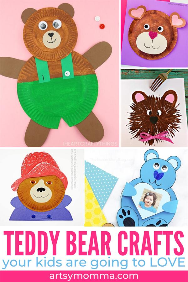 Teddy Bear Arts and Crafts