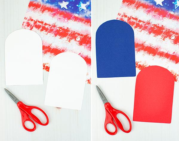 Construction Paper Popsicle Shapes