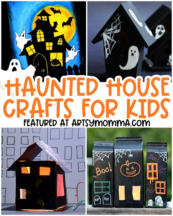 Haunted House Craft Ideas