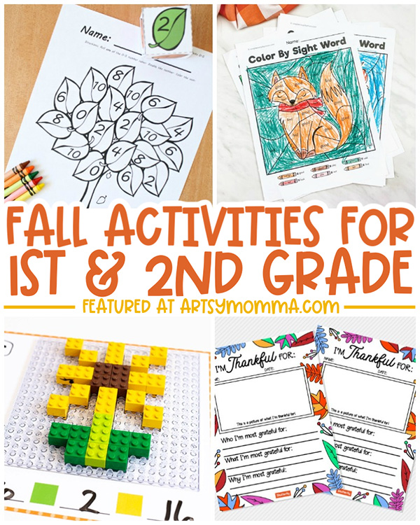 Fall Activity Sheets for Elementary Ages