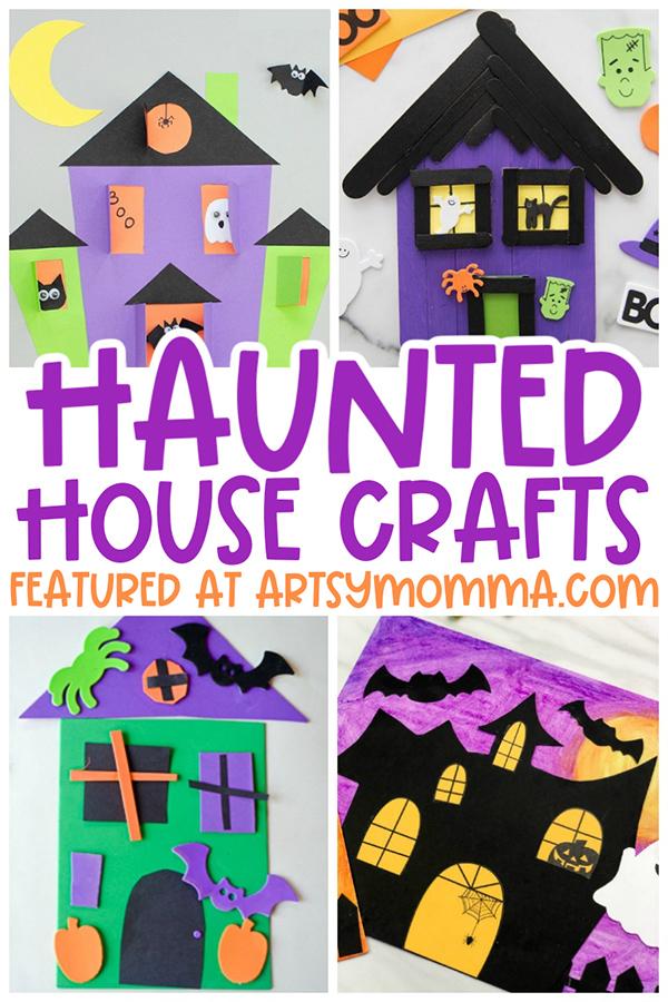 Halloween Haunted House Art & Craft Ideas