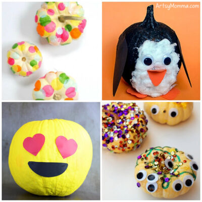 Cute Pumpkin Decorating Ideas for Preschoolers