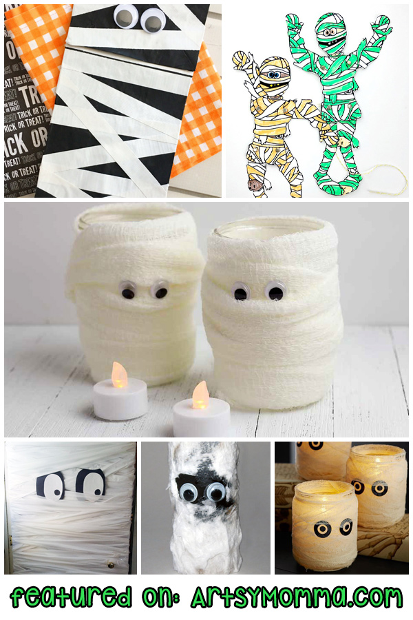 Halloween Mummies for Kids to Make