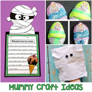 Kids Mummy Craft Ideas