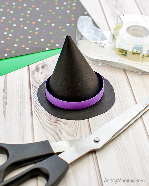 Small Paper Witch Hat