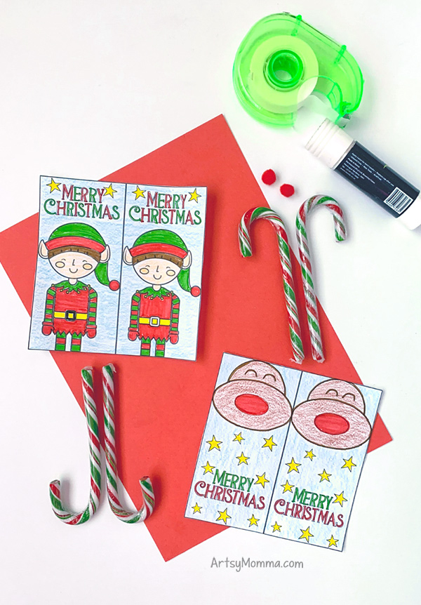 Elf & Reindeer Christmas Party Favors