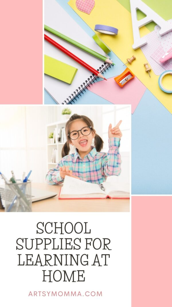 Virtual Homeschool Supply List