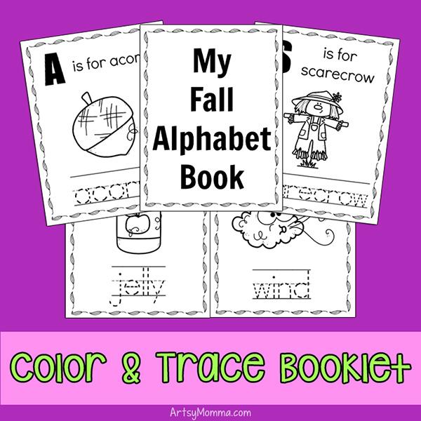 Fall Alphabet Booklet Printable