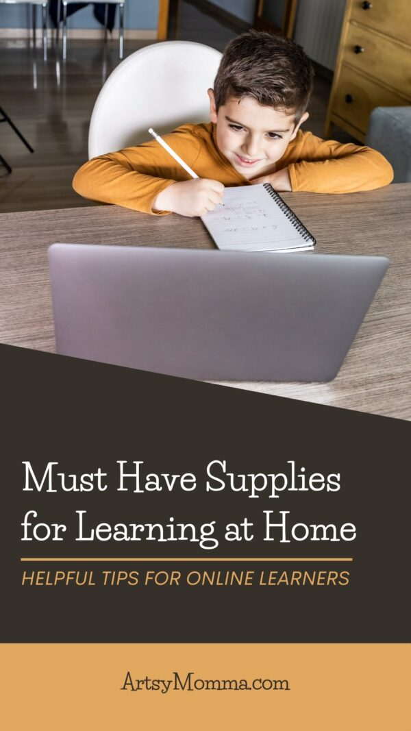 Supplies for Distance Learning At Home