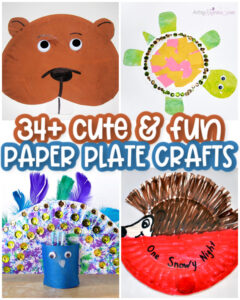 Animal Paper Plate Craft Ideas