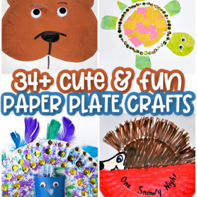 Fun Paper Plate Crafts for Kids to Make!