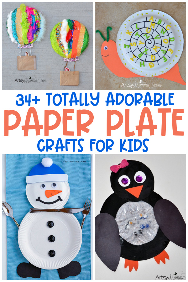 Fun Paper Plate Crafts