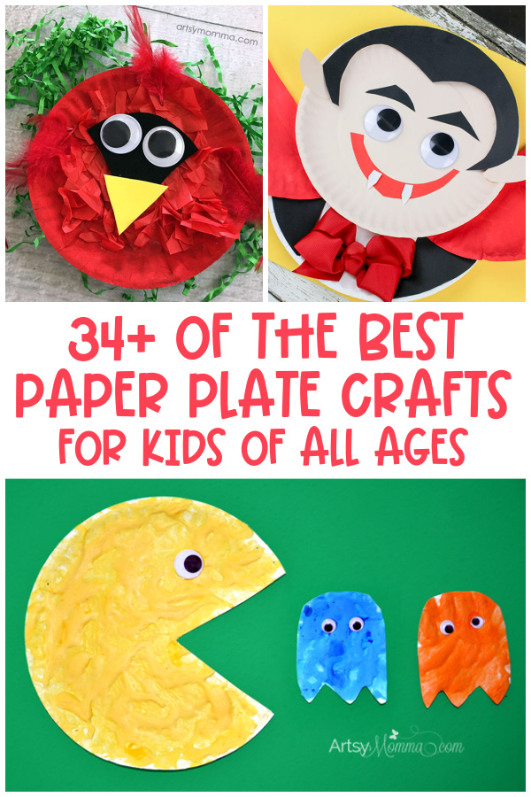 Crafts made with Paper Plates