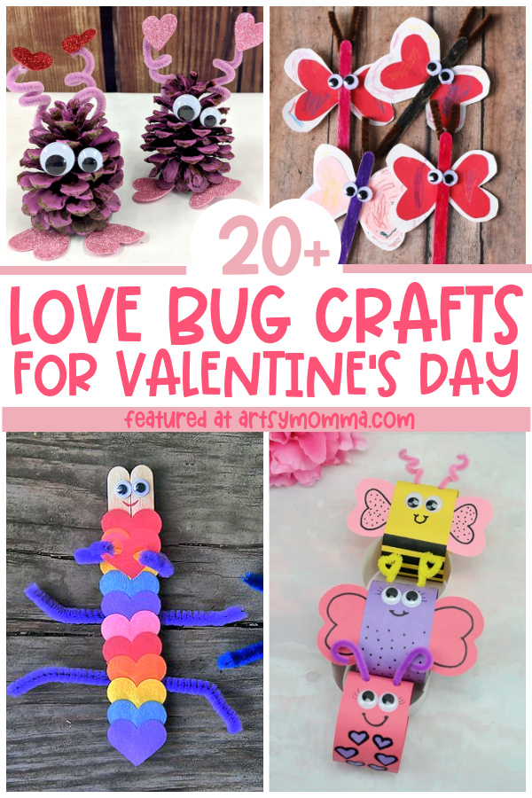 Valentine's Day Bug Theme Craft Ideas