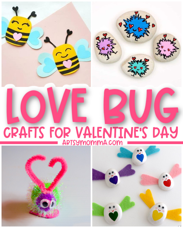 Kids Lovebug Themed Crafts