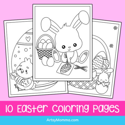 Printable Easter Coloring Pages for Kids
