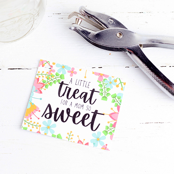 Sweet Treat Gift Tag for Mom Printable