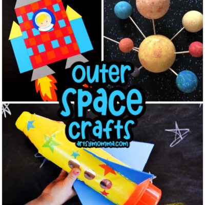 Cosmically Cool Outer Space Crafts for Kids