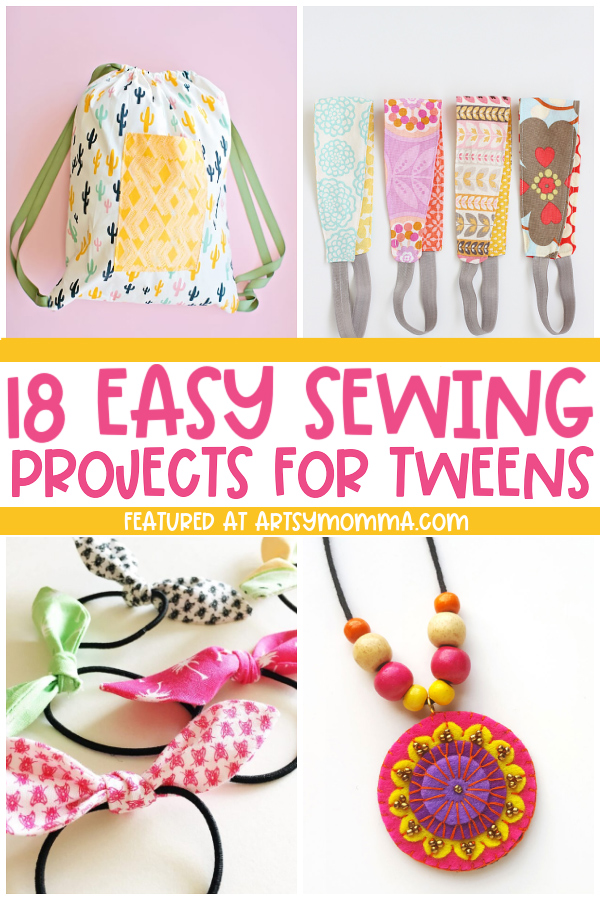 Wearable Sewing Craft for kids: headband, backpack, necklace