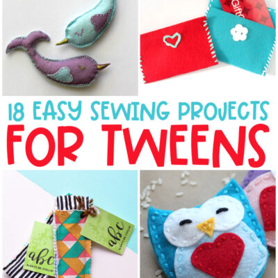 Easy Sewing Projects for Kids Ages 8-12