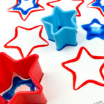 Star Shape Cookie Cutter Painting