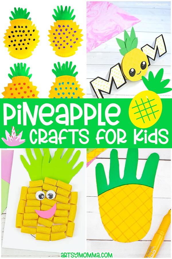 Summer Pineapple Crafts