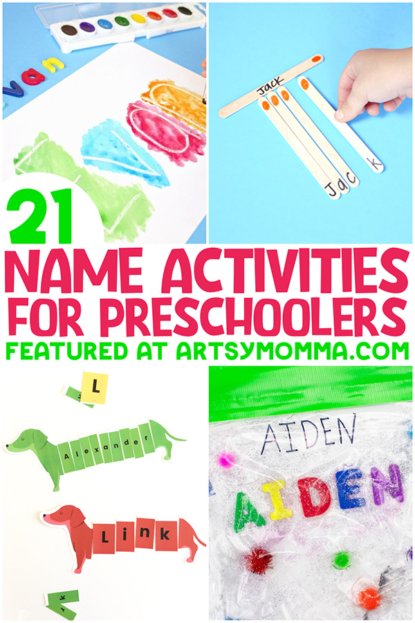 21 Easy Name Activities for Preschoolers